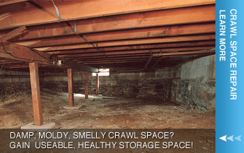 We are the Arkansas Crawl Space Experts!