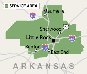 Our Arkansas Service Area